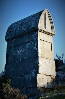 Fine Lycian period tomb an Apollonia