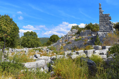 The Agora of Adada general view