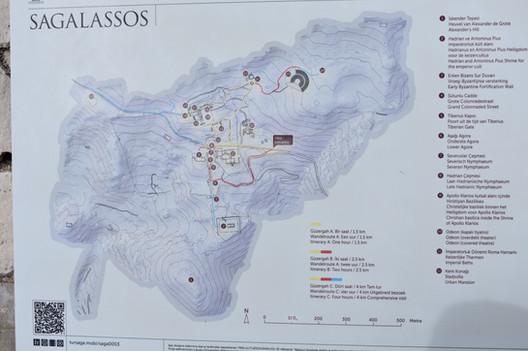 General Plan of Sagalassos