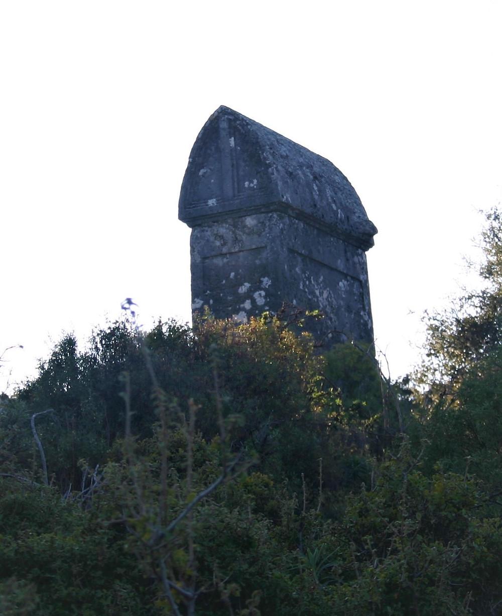 Lycian Stone tomb in Apollonia