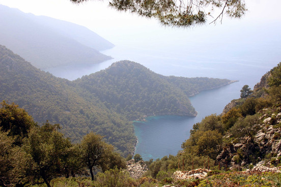 The seven capes of Western Lycia