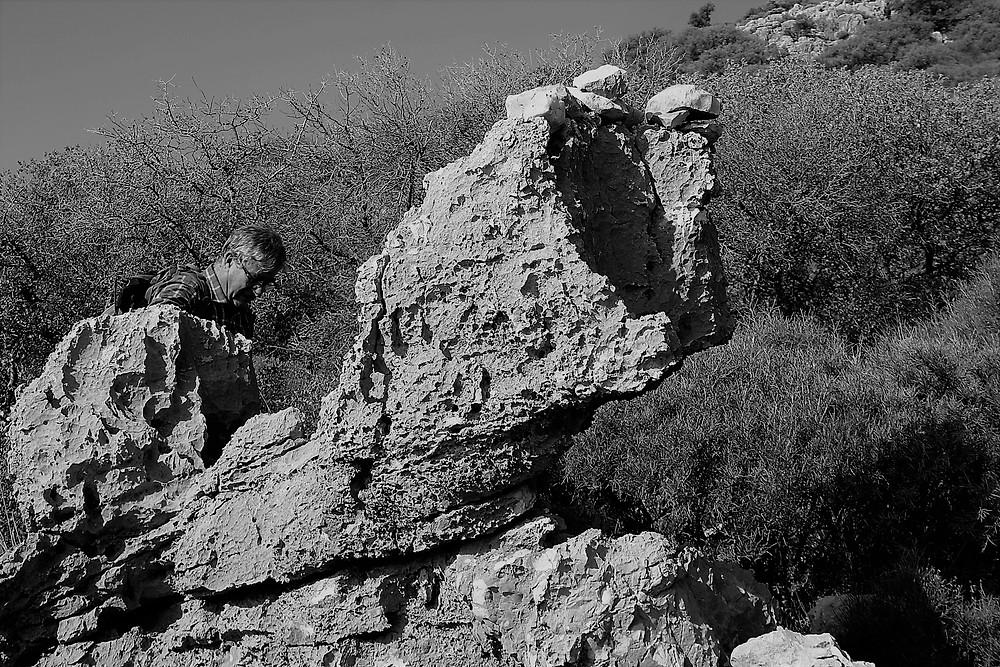 Dolomitic Limestone in Lycain Turkey