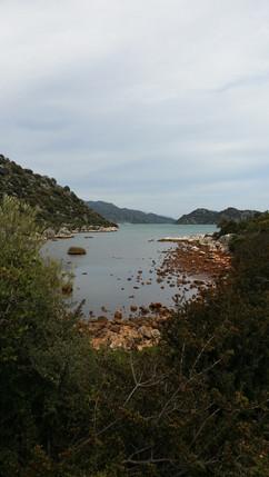 The far end of Ucagiz bay