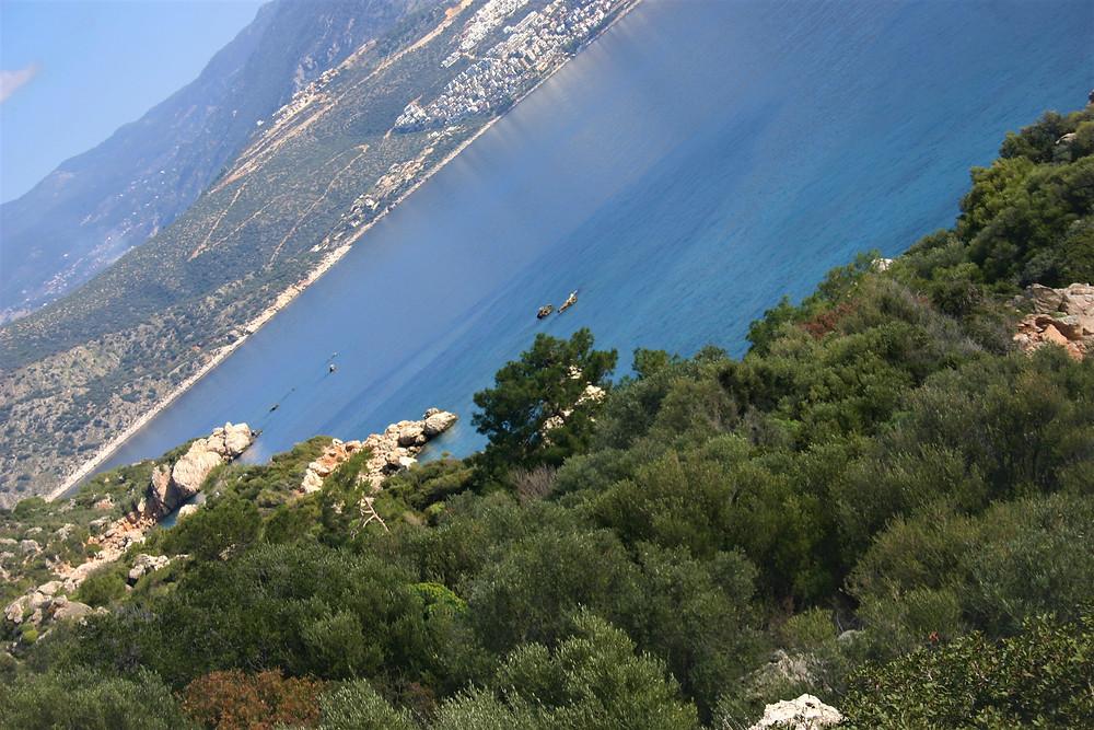 Turquise coast near Kalkan, Lycia