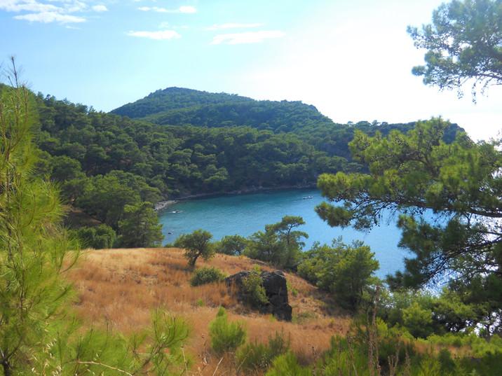 A cove near Karaoz and Melanippe