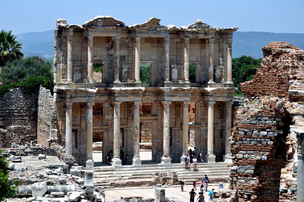 Ephesus library UNESCO tour