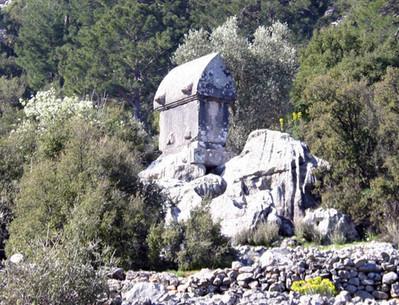 Lycian Sarcohagus