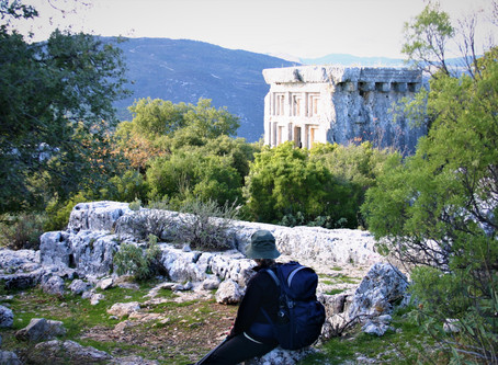 Walking the Strawbery Ridge.  Asar to Phellos. A trek on the Lycian Way.
