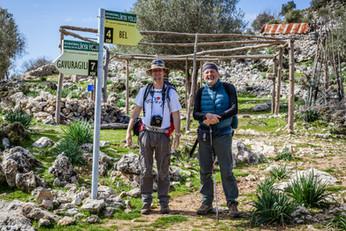 Lycian Way signpost Bel - Gavurağılı
