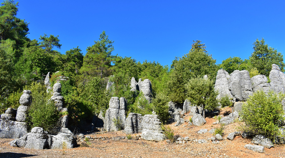 Rock formation near Selge