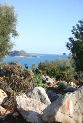 View back towards Andriake
