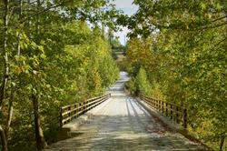 Kasimlar Bridge Trek start