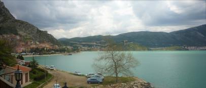 View to North West from Egirdir