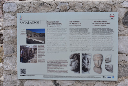Marble Hall of Imperial Cult Sagalassos
