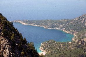 The İnce Burun Narrow point of Lycia