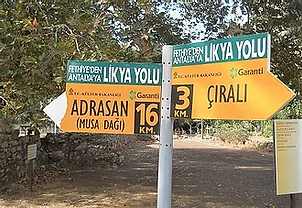 Adrasan Cirali Signpost.webp