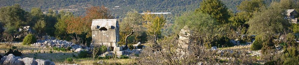 Apollonia in Lycia Necropolis