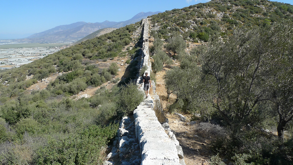 Delikkemer Aqueduct brough water to Patara, the capital of Lycia