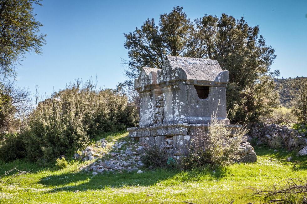 Twin Tombs of Sidyma ad Lycia