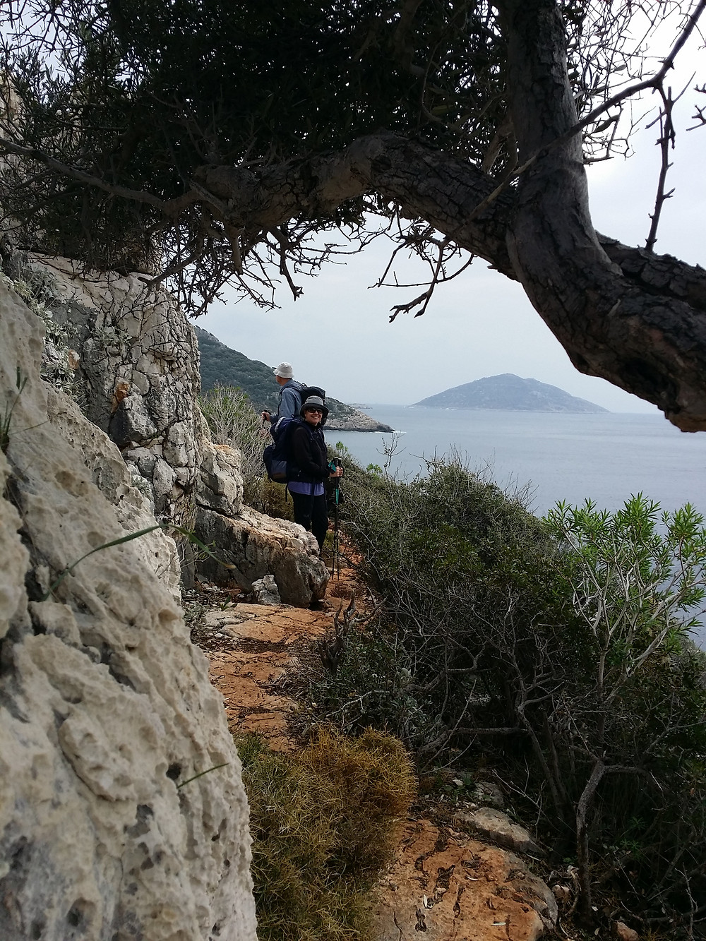 Just before Coban Plaji on the Lycian way