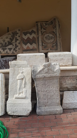 Mosaic from Pisidian Antioch - M+K BeltonMuseum exhibits from Pisidian Antioch - M+K Belton