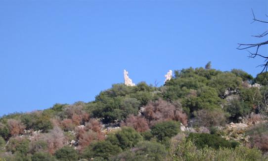 Roman period tower between Kas and Kekova
