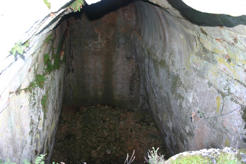 Huge cistern in Lycian Apollonia