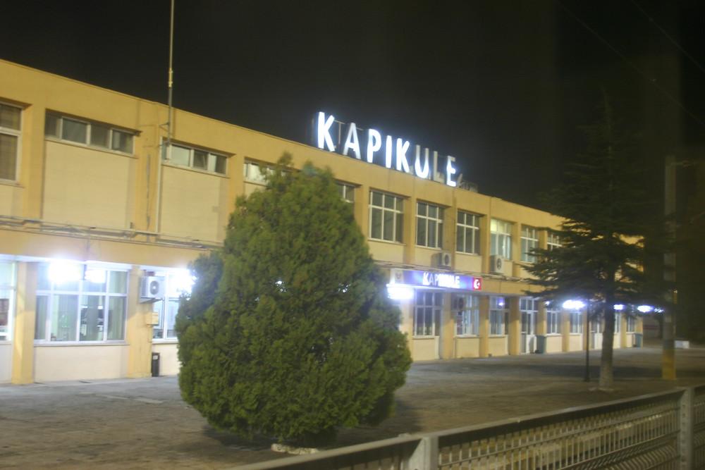 Kapikule ( Border Tower) the last stop in Turkey