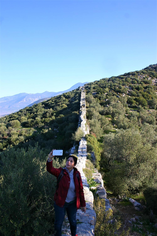 Trekkers Paradise. Delikkemer aqueduct walk.