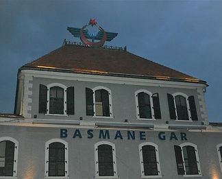Basmane train station in Izmir