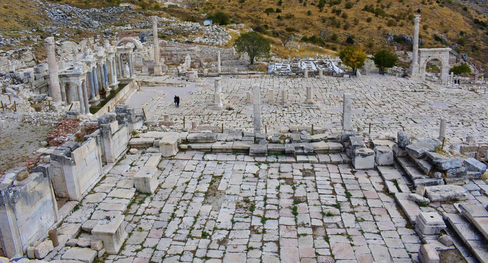 The agora and Nympheum of Sagalassos