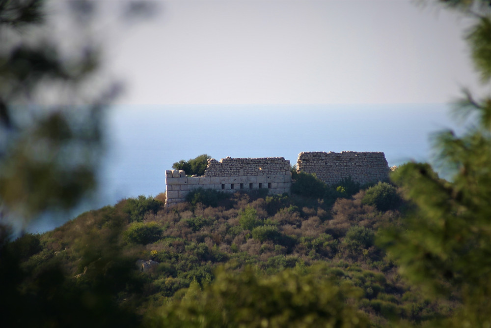 Fortress above Patara
