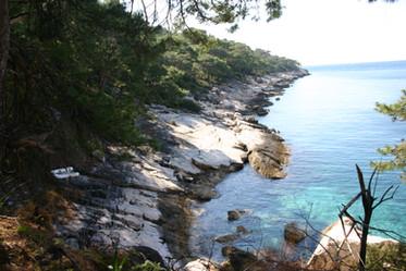 Turquoise coast trekking route