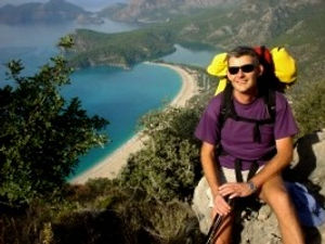 Mike Belton founder of Amber Travel  at Oldeniz