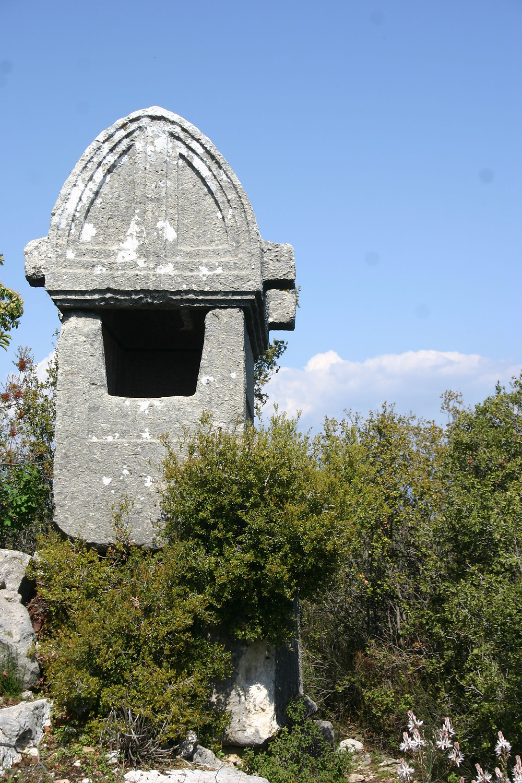 Phellos sarcophagus on Lycian Way