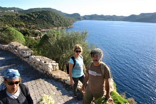 The first hill out of Kas