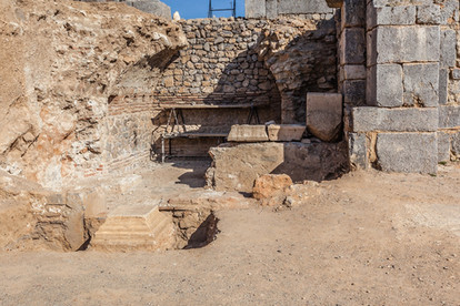 Agora excavations at Antioch ad Pisidiam - Thanks to Curt Bidinger