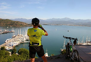 Cycling tour around Fethiye Turkey