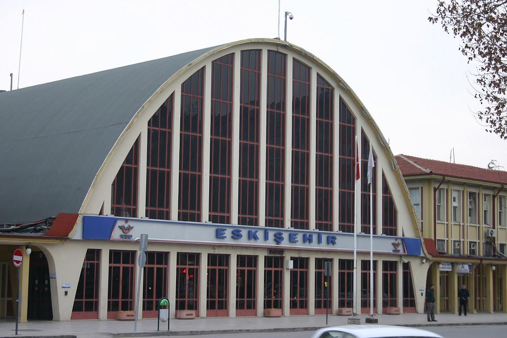 Eskishehir station in Turkey.  On the High Speed line.