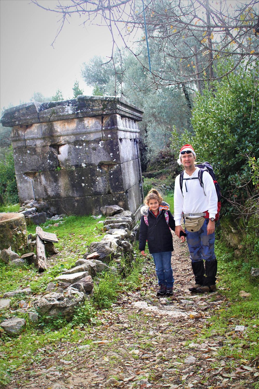 Sidyma tomb with Paul and Uyanış