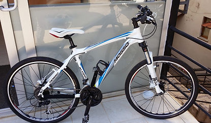 Mosso moutian bike for rent in Kalkan