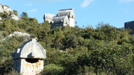 The Lycian rock tombs of Simena