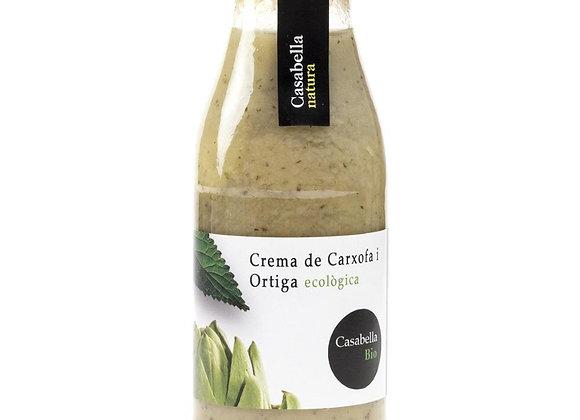 Crema de alcachofa y ortiga