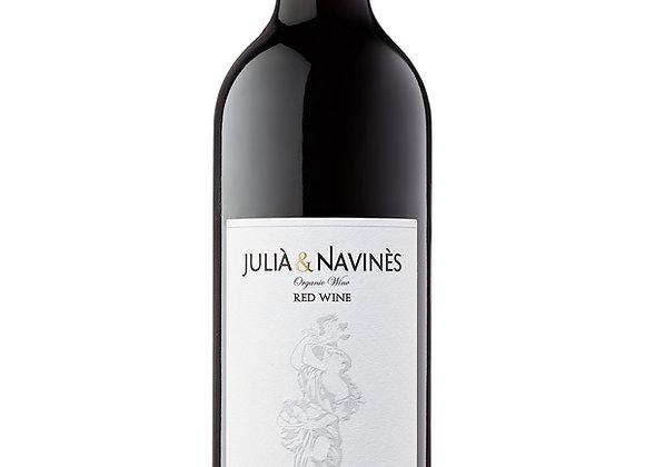 Vino tinto Julià&Navinès