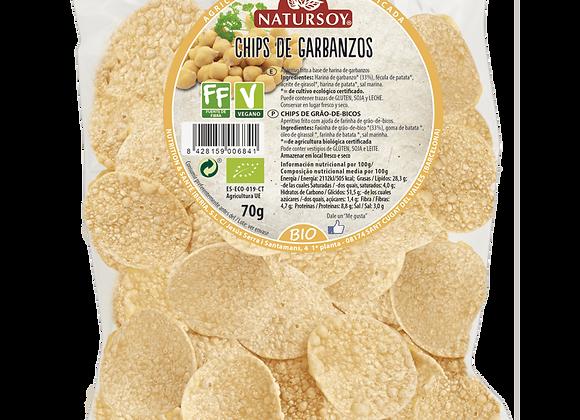 Chips de garbanzos