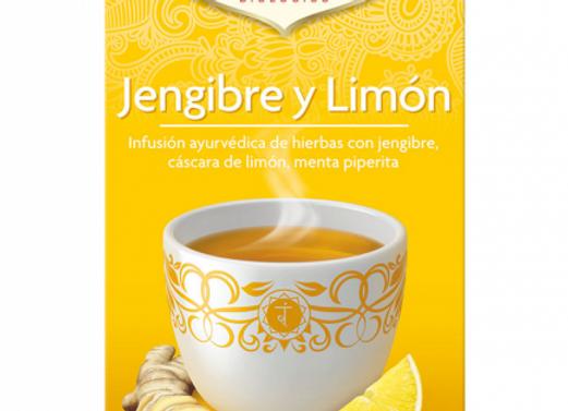 Té jengibre y limón -Yogi tea