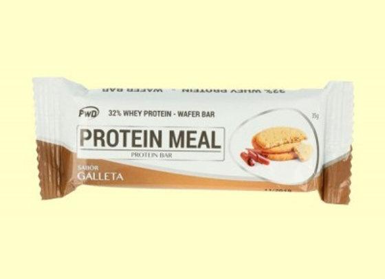 Barrita de proteína sabor galleta