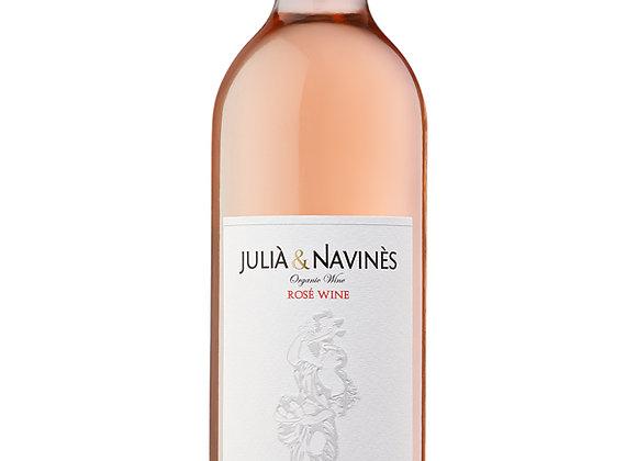 Vino  Rosé Julià&Navinès