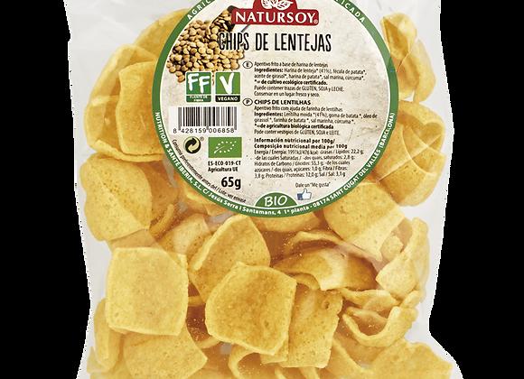 Chips de lentejas 65gr