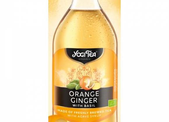 Infusión de naranja y jengibre